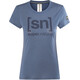 super.natural Essential I.D. t-shirt Dames blauw